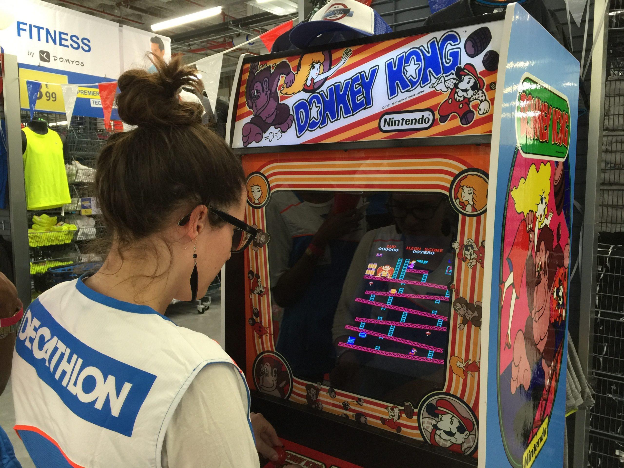 location borne arcade Donkey Kong