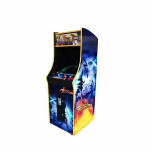 borne arcade street fighter bleu