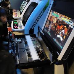 Borne arcade en jeu
