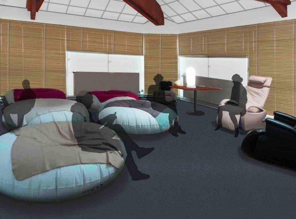 Proposer un espace détente avec des fauteuils de massage