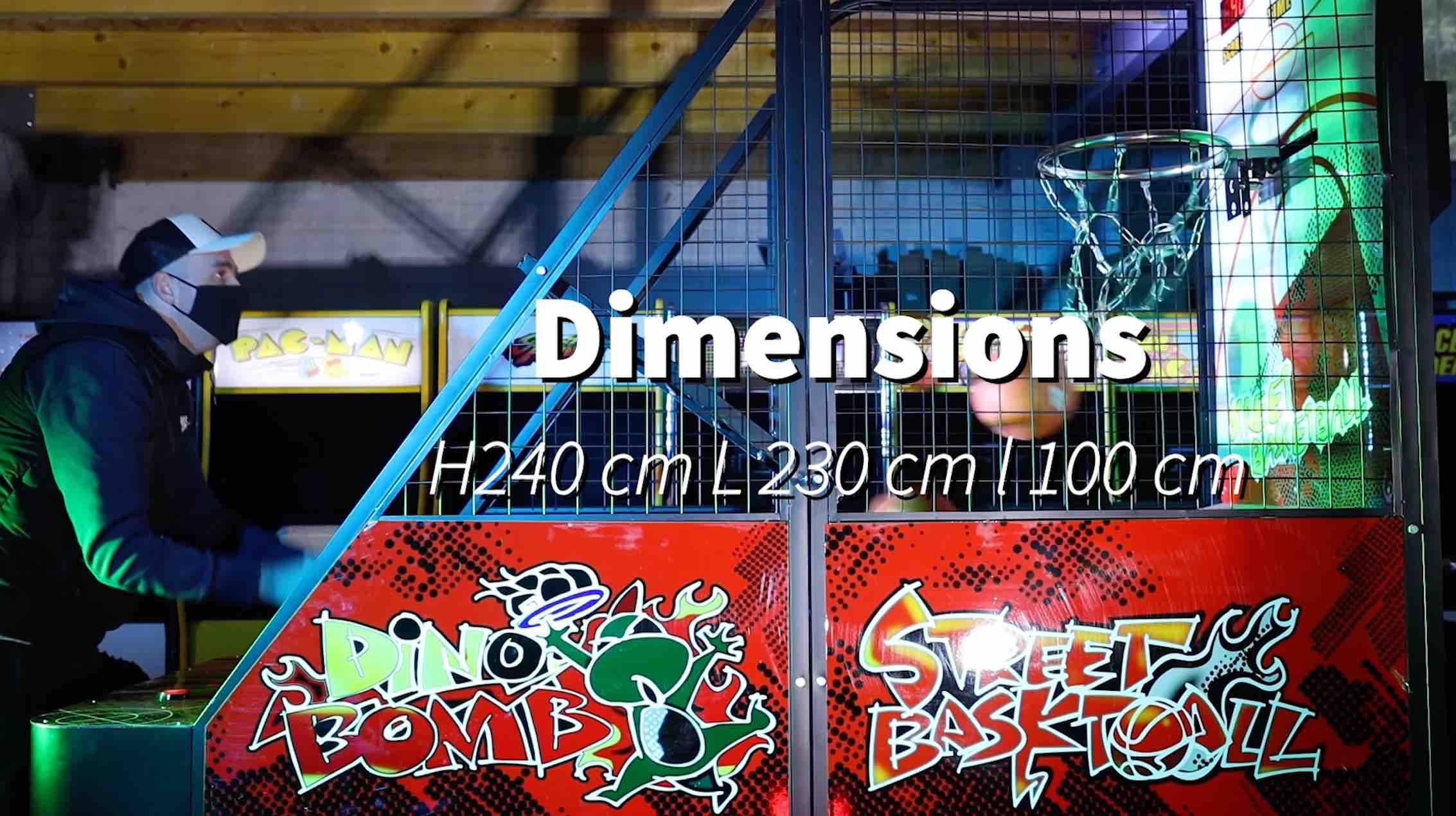 Location arcade street basket 53 5