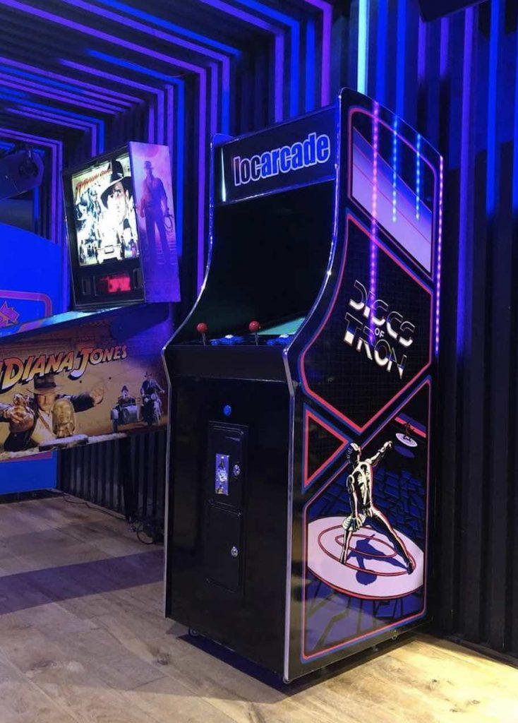 location borne arcade tron