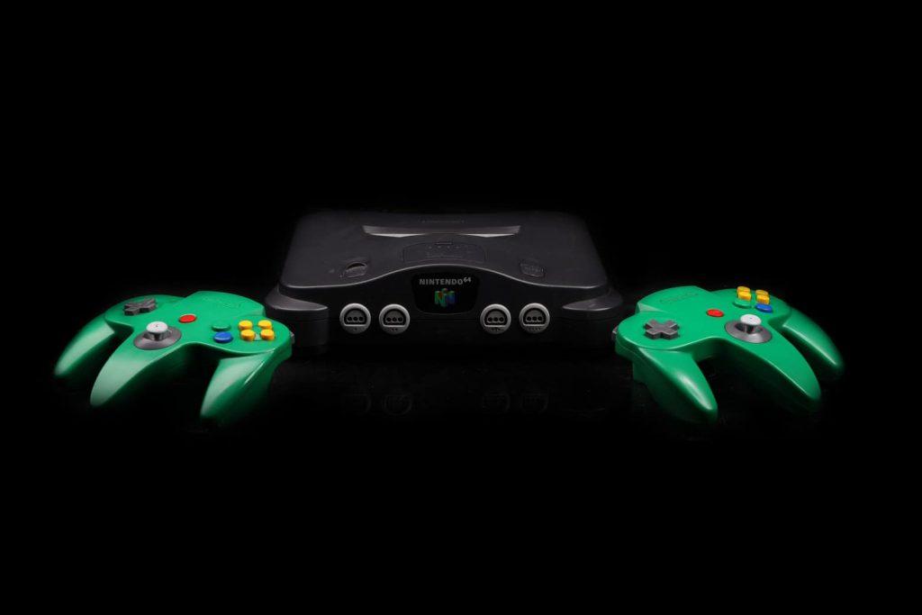 console retro Nintendo 64 1024x683